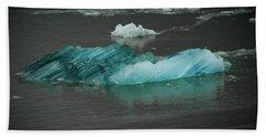 Blue Iceberg Bath Towel