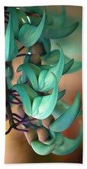 Blue Jade At Sadie Seymour Park Hand Towel