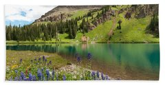 Blue Lakes Summer Splendor Hand Towel