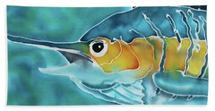 Blue Marlin Bath Towel