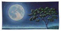 Blue Moon 01 Hand Towel