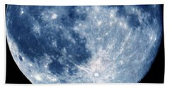 Blue Moon 7-31-15 Hand Towel