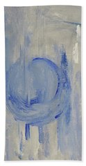 Blue Moon Hand Towel by Victoria Lakes