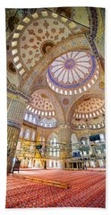 Blue Mosque Interior Bath Towel