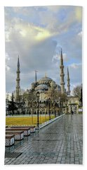 Blue Mosque Bath Towel