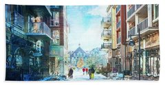 Blue Mountain Village, Ontario Hand Towel