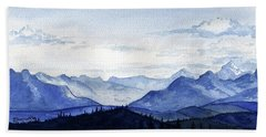 Blue Mountains Bath Towel