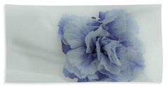 Blue On Blue Bath Towel