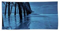 Blue Pier Bath Towel