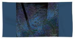 Blue Reflection Hand Towel