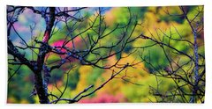 Blue Ridge Autumn Hand Towel