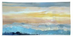 Blue Ridge Mountain Sunset 1.0 Hand Towel