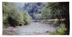 Blue Ridge Mountains 8 Hand Towel
