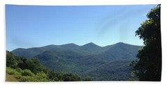 Blue Ridge Mountains Hand Towel