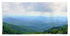 Blue Ridge Parkway Overlook Hand Towel by Meta Gatschenberger