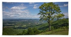 Bath Towel featuring the photograph Blue Ridge Parkway Scenic View by James Woody