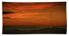 Blue Ridge Sunset Bath Towel