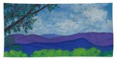 Blue Ridges 4 Hand Towel