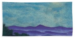 Blue Ridges Mist 1 Bath Towel