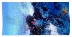 Blue Sea Hand Towel