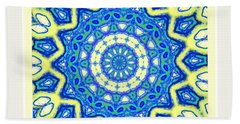 Blue Spin Hand Towel
