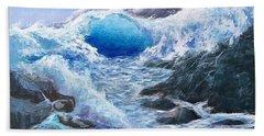 Blue Storm Bath Towel