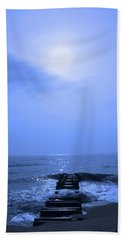 Blue Sunrise Hand Towel