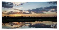 Blue Sunset 2 Bath Towel