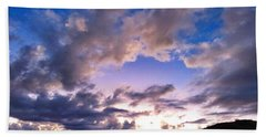 Blue Sunset Hand Towel