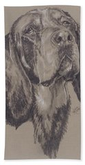 Bluetick Coonhound Bath Towel