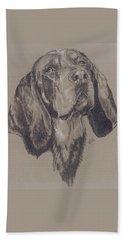 Bluetick Coonhound Hand Towel