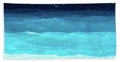 Blue Tones Of Ionian Sea Bath Towel