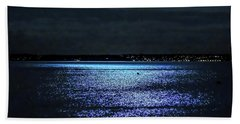 Blue Velvet Bath Towel