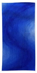 Blue Vibration Bath Towel