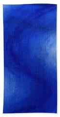 Blue Vibration Bath Towel