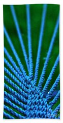 Bath Towel featuring the photograph Blue Weave by Xn Tyler