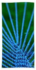 Blue Weave Bath Towel