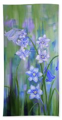 Bluebell Haze Hand Towel