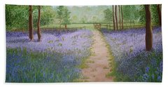 Bluebells Hand Towel
