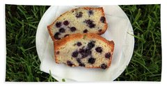 Blueberry Bread Bath Towel