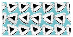 Hand Towel featuring the mixed media Blueberry Hamentashen- Art By Linda Woods by Linda Woods