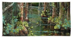 Bluebonnet Swamp Bath Towel
