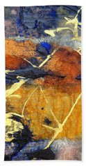 Bluegold 1 Bath Towel by Gail Butters Cohen