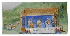 Bluegrass Festival Bath Towel