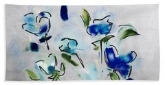 Blues Hand Towel