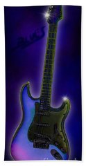 Hand Towel featuring the digital art Blues  by Nick Gustafson