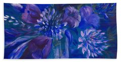 Blues To Brighten Your Day Hand Towel