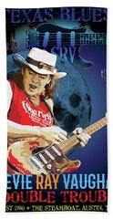 Bluesman Hand Towel by Gary Grayson
