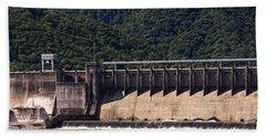 Bluestone West Virginia Dam Panorama Bath Towel