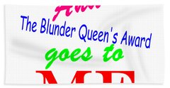 Blunder Queen Bath Towel